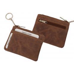 Schlüsseltasche mit zwei Kartenfächern Hunter Leder