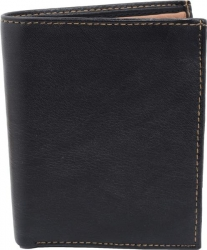Samtweicher Shopper - dunkelblau mit grauen Streifen