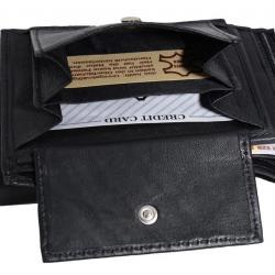 dariya® Basic - Handtasche mit doppeltem Reißverschluss camel mit schwarz